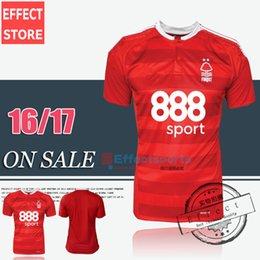 Wholesale 2017 Thailand quality Nottingham Forest soccer jerseys Maillot de Foot Home Red MATTY FRYATT LANSBURY MATT MILLS football shirts
