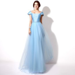 Wholesale Hot Sale Evening Gowns High Neck Backless A Line Chiffon UK Prom Dresses with Long Sleeve Elie Saab Real Image Celebrity Dress