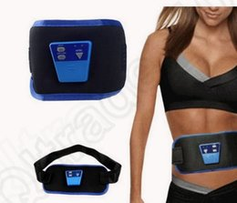 Wholesale KKA197 AB Gymnic Muscle Arm leg Waist Abdominal Massage Slim Fit Toning Belt Electronic Muscle Massage Belt Slim Fit electric massager