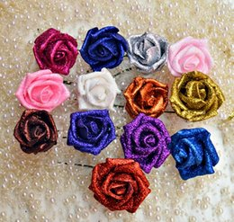 Wholesale Flower head diameter cm Wedding powder pe foam rose flower wedding decoration simulation rose flower color optional HJIA423