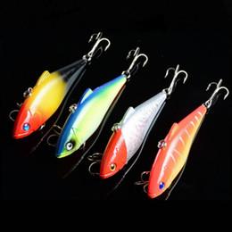Wholesale 4 Color 8.5cm 11.2g Vibration Lure Bait VIBRATION fishing gear bionic bait lures Lure 3D Eye Fishing Lure