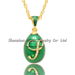 Fashion jewelry music lovers notes ladies handmade color enamel Russian style Faberge egg pendants necklace for woman