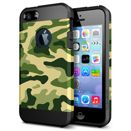 Wholesale Camouflage army camo case for iPhone S s s Plus defender cell phone rubber silicone soft case