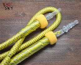 Acheter en ligne Shisha bouche-[SKY] Haute qualité Shisha Hookah tuyau avec des bouts Bouche Shisha Tubes Tubes Outils accessoires shisha Couleur mixte HAH-0003