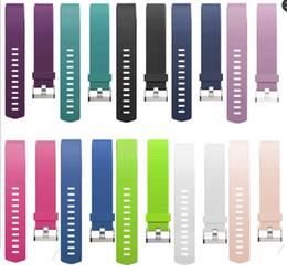 Wholesale New Sport Replacment Silicone Bands Straps for Fitbit Charge Smart Bracelet Bands Straps PK Fitbit Alta Blaze Flex Apple Watch Straps
