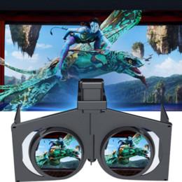 Version la plus récente! Mini Headmount Pliable 3D VR Lunettes Réalité Virtuelle Vidéo Movie Game Lunettes pour téléphones intelligents à partir de nouveaux jeux vidéo fabricateur