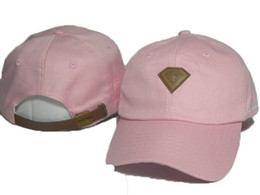 New Fashion Snapback Caps pink Diamond StrapBack Baseball Cap Hat For Men Women Hiphop Hat Peaked Cap Hunting Hats Free Shipping DDMY