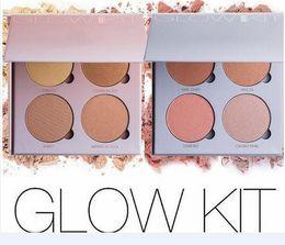 Wholesale 2016 Glow Kit That Glow and Gleam Powder Ana Contour Kit Bronzer Highlighter Powder Face Makeup Kit Cosmetic Free DHL