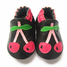China Top Quality genuine leather baby shoes,low quality baby leather shoes,sole sole girls&boys leather shoes