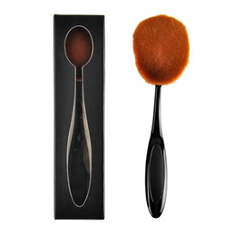 Wholesale Large Toothbrush Shaped Makeup Brush BB Cream Foundation Big Big Makeup Brush Beauty Oval Cream Puff Cosmetic Blend Tools