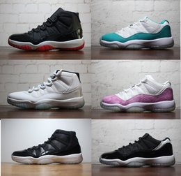 Wholesale Retros Basketball Shoes Sneakers Men Women Grey Retro XI Low Gamma XI Sneakers North Carolina blue basketball shoes for fashion