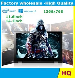 Wholesale 11 inch laptop in Quad core Intel GB GB Windows touch screen portable notebook computer intel hd screen laptops dhl