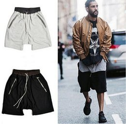 Wholesale Men summer hip hop shorts baggy harem short pants swag clothing mens casual sport basketball gym board shorts bermuda