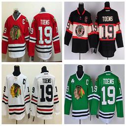 2016 Stadium Series chicago Blackhawks jerseys #19 janathan toews Practice Final Season ICE Hockey jerseys Wholesale Price 100% Polyester