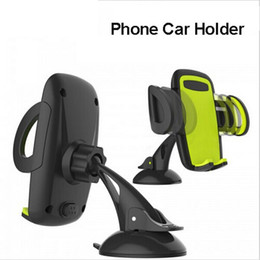 Car Mobile Phone Holder Stand Adjustable Support 6.0 inch 360 Rotate For Iphone 6 Plus 5s For Samsung galaxy S6 s7 edge S5