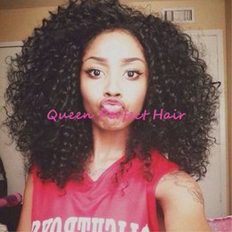 Heat Resistant Japanese Fiber Short Afro Kinky Curly Wigs Synthetic Lace Front Wig Long Fluffy Wigs For African American Black Women Fashion