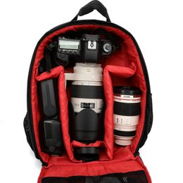 Wholesale camera bag 3 colors choice nylon material camera bag backpack fashion camera bag slr camera bag