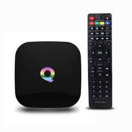 Wholesale 2GB GB Q Box Android TV Streaming Media Mini PC New G Box K Quad Octo Core Internet TV Box fully loaded Kodi XBMC Best TV Box