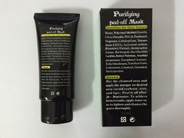 Wholesale 500 Best Selling SHILLS Deep Cleansing purifying peel off Black mud face mask Remove blackhead face mask ml free DHL
