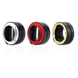 A7r sony en Línea-Macro AF de enfoque automático de Extensión DG Tubo 10mm 16mm Frame Anillo de montaje del metal Soporte completo para Sony E-mout NEX NEX-6 A7R D2526 A3000