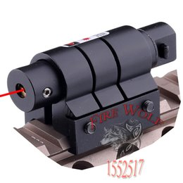Wholesale Tactical Mini Red Laser Sight For Rifle Scope Airsoft mm Weaver Picatinny Mount Hunting Scopes Air Soft Tactical