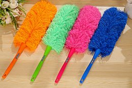 Wholesale Superfine Fiber Dust Shan Household Feather Duster New Car Dust Cleaning to Remove Dust colors