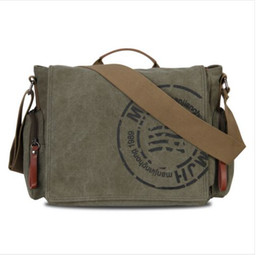 Hot Sale! Veevan vintage men messenger bags canvas shoulder bag men business bag printing travel bag free shipping