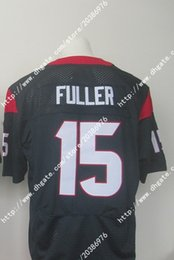 Wholesale NWT Factory Newest Hot NIK Elite Houston Will Fuller Texans Blue Men s Stitched Embroidery Logos America Football Jerseys Sweatshirts