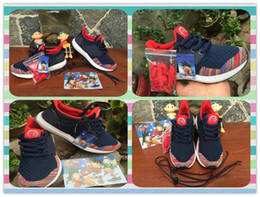 Wholesale New Boys And Girls Shoes Fashion Shoes Children s Fashiion Shoes Running Shoes Dark Blue NMD Wukong Sports Baby Kids Discount Sports