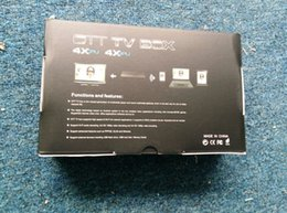Wholesale shopping online TV BOX at DHL express speed MXQ android TV BOX
