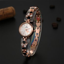 Fine New Style Thermal models female Korean version of the creative watches ladies diamond bracelet watch 2piece lot