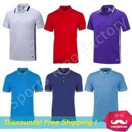 Wholesale Best quelity Soccer Polo jersey POLO shirt collar shirt cotton Spectators soccer jerseys football club training polo jersey