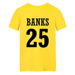 Wholesale The Fresh Prince of Bel Air Academy Carlton Banks Bel Air Academy Yellow T Shirt