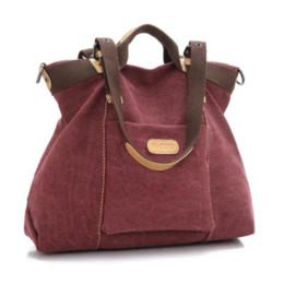 Acheter en ligne Toile grand sac à main-Motif Vintage fashion Squirrel fourre-tout polyvalent de haute qualité grande toile capacité sacs à main occasionnels vogue sac à bandoulière femmes