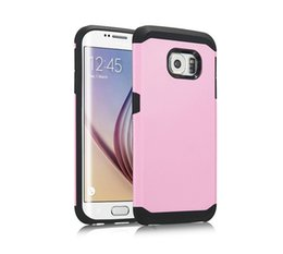 Wholesale Hybrid Slim Phone Cases Tough Armor Shockproof PC TPU Phone Cases Cover for Samsung Galaxy S5 S6 S7 Edge Note For All Phone