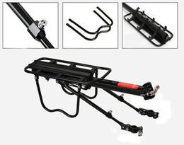Wholesale New Brand Adjustable aluminum Bike Rear Rack Carry Carrier Seatpost Mount Quick Release Bicycle pannier rack