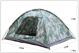 Wholesale NEW Outdoor Camping Person Rainproof Digital Camouflage Tent High Quality Couples Tent Seasons Light Weight