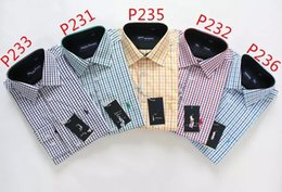 Wholesale The new pure color of men s shirts long sleeve shirts Men s shirts and cotton manufacturing leisure shirt