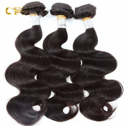 Free shipping Brazilian human remy hair extensions good range Unprocessed human hair weaveing body wave thick ends