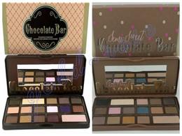 Wholesale HOT Makeup Chocolate Bar Eyeshadow semi sweet Palette Color Eye Shadow plates gift