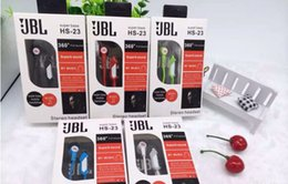 Wholesale JBL HS HS Super Bass mm In ear Earphones With Mic Headphones for iPhone7 Samsung