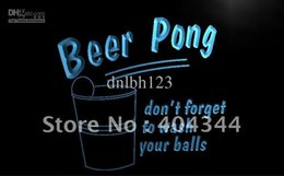 Wholesale LB940 TM Beer Pong Game Bar Pub Club NEW Light Sign Advertising led panel