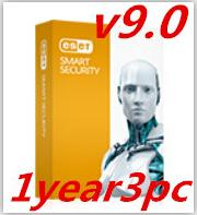 Wholesale ESET NOD32 Antivirus9 key activation username and password antivirus year PC