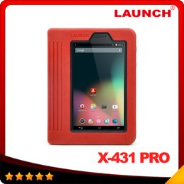 Wholesale 2016 Top sellin Launch X431 Pro Advanced Professional diagnostic tool x pro Wifi Bluetooth function DHL free