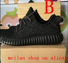 Wholesale 350 different quality with meilan shop comfortable Sport Shoes with handbag and bill size