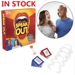 Wholesale Best selling board game speak out game interesting party game and family game christmas as gift of in stock b396