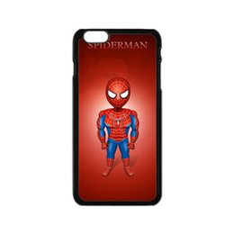 Wholesale Cheapest Iphone Custom Case - Free shipping sell plastic cell phone protectors back cover for smart phone print custom spider man-01 cheap cases for Apple iphone 6S Plus