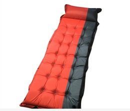 Wholesale Automatic inflatable cushion can be spliced manufacturers larger and thicker moisture proof pad outdoor camping camping pad