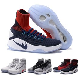 Wholesale Hyperdunk Oreo USA Unlimited Basketball Shoes For Men Olympic Sneakers Cheap High Top Retro mens Trainers Black Volt Total Orange White