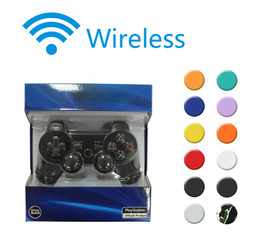 Wholesale Hot PS3 Game Controller Wireless Bluetooth Gamepad for PlayStation Game Controllers Joystick for Android Video Games Colors Retail Box